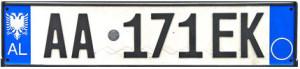 Албанский номер
