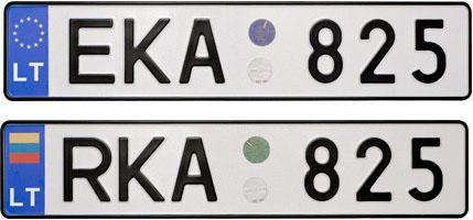 Литовский номер