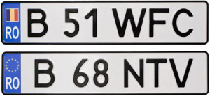 Румынские номера