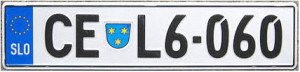 Номер Словении