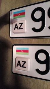 Азербайджанские с чипом номера