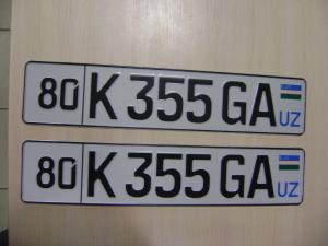 Примеры иностранных номер (фото)