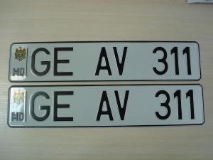 Пример номерного знака фото