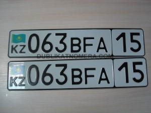 Автомобильные номера Казахстан