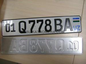 узбекский номер на машину