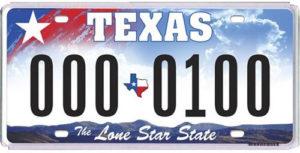Американские номера на авто