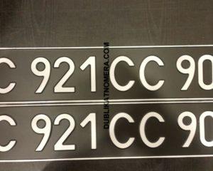 Черные номера на авто