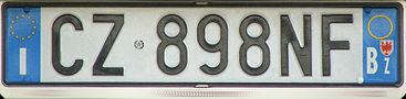 Итальянский номер