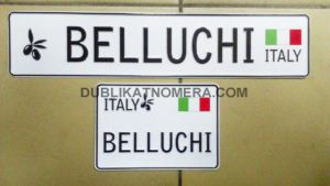 Италия номера